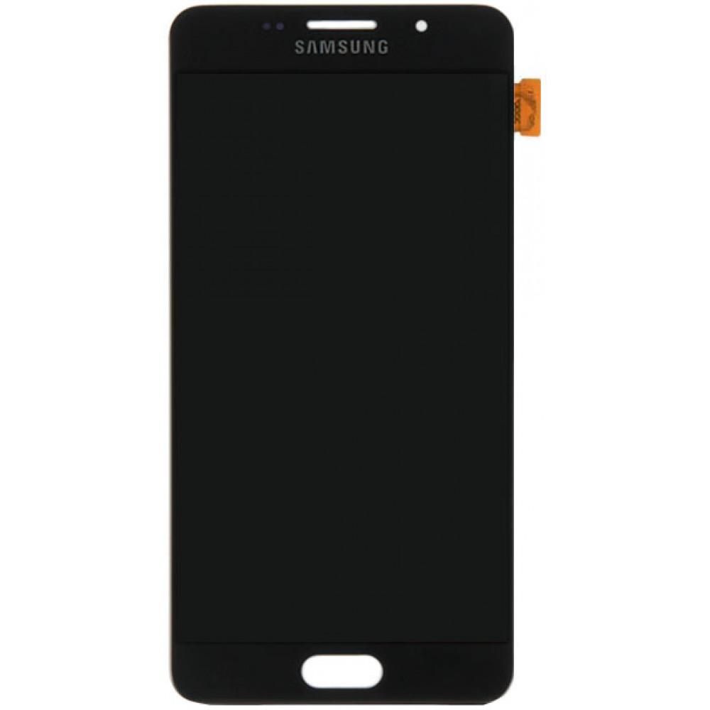 Дисплей для Samsung Galaxy A5 (A510 2016) в сборе с тачскрином, черный