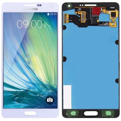Дисплей для Samsung Galaxy A7 (A700F 2015) в сборе с тачскрином, белый
