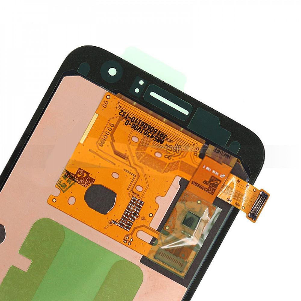 Дисплей для Samsung Galaxy J1 (J120 2016) в сборе с тачскрином, золотой
