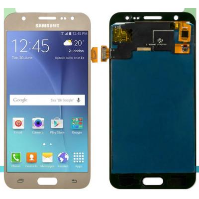 Дисплей для Samsung Galaxy J5 (J500F 2015) в сборе с тачскрином, золотой