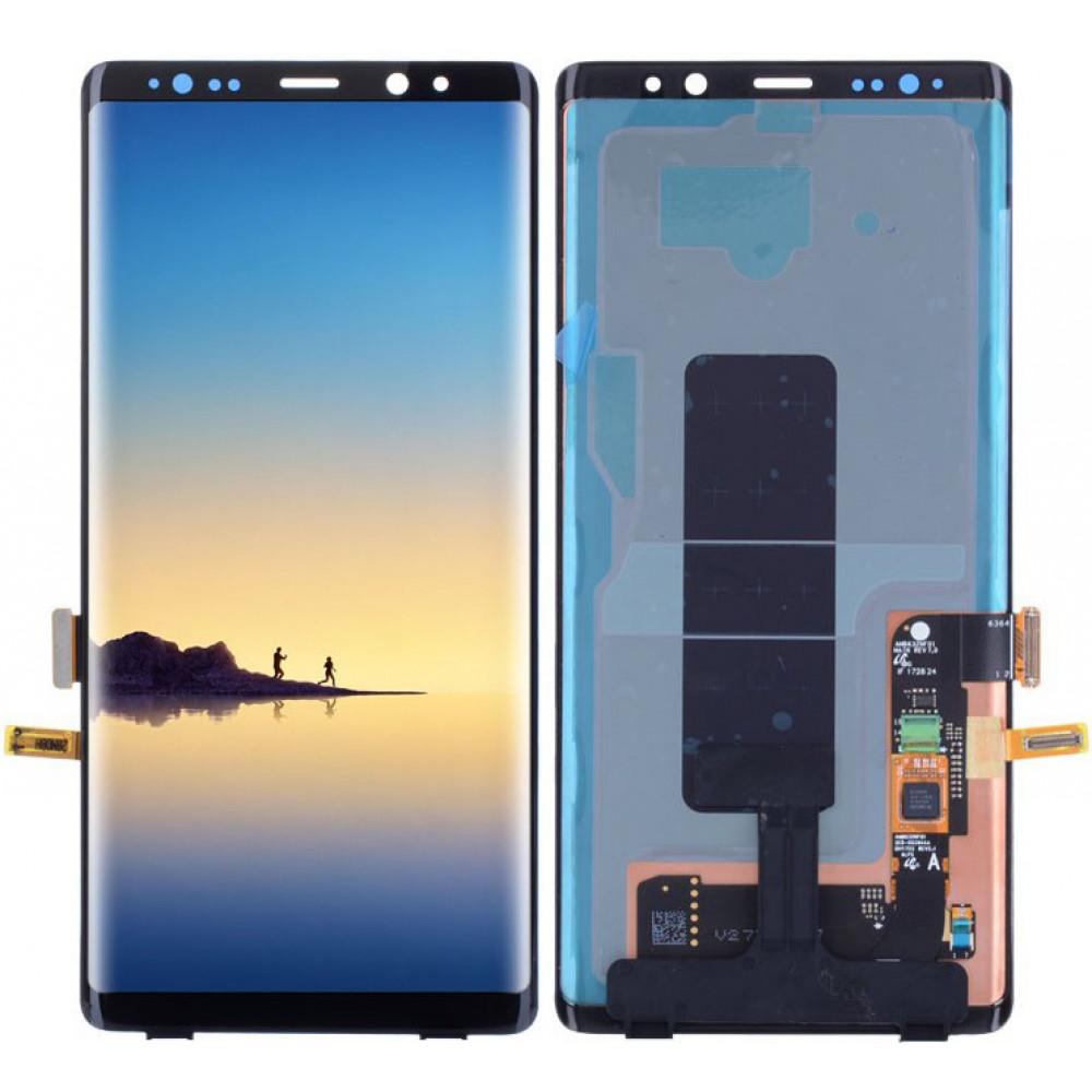 Дисплей для Samsung Galaxy Note 8 в сборе с тачскрином, черный