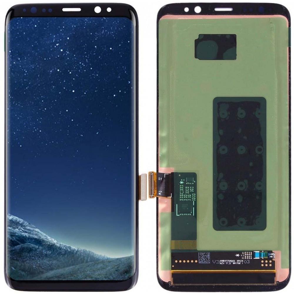 Дисплей для Samsung Galaxy S8 в сборе с тачскрином, черный