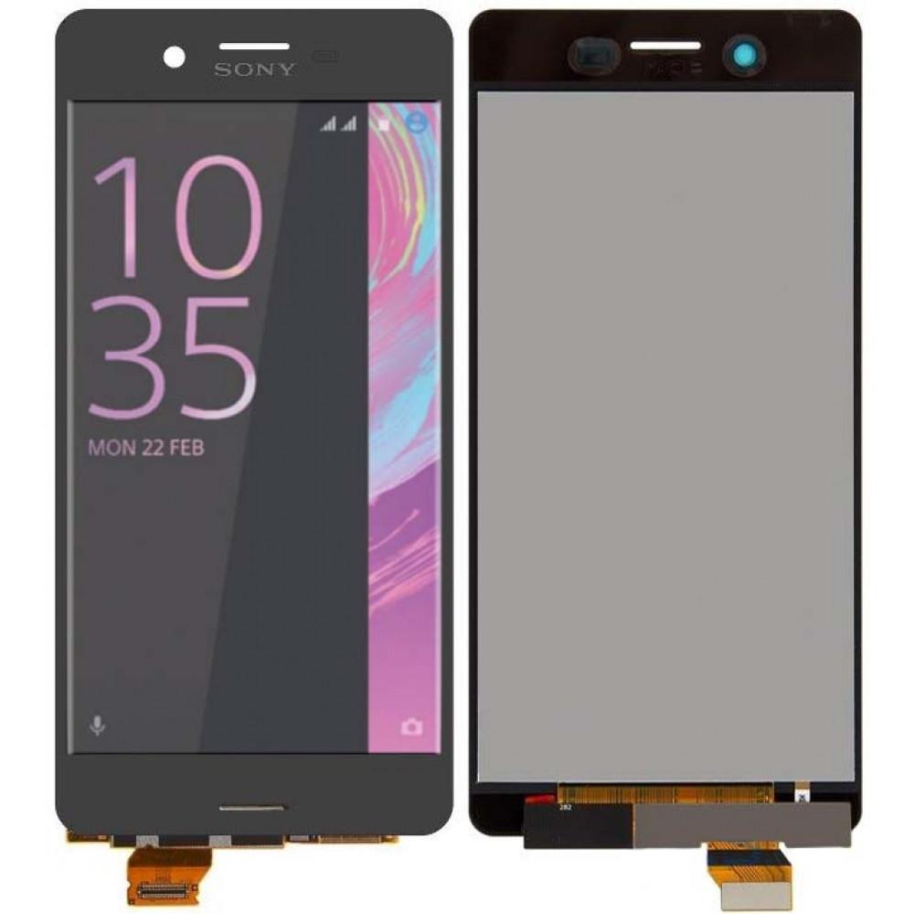 Дисплей для Sony Xperia X ( F5121 ) в сборе с тачскрином, серый