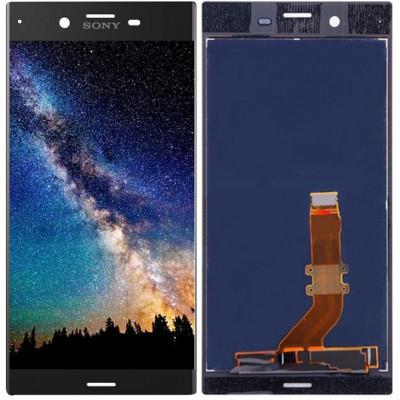 Дисплей для Sony Xperia XZ в сборе с тачскрином, черный