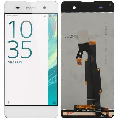 Дисплей для Sony Xperia XA (F3111) в сборе с тачскрином, белый