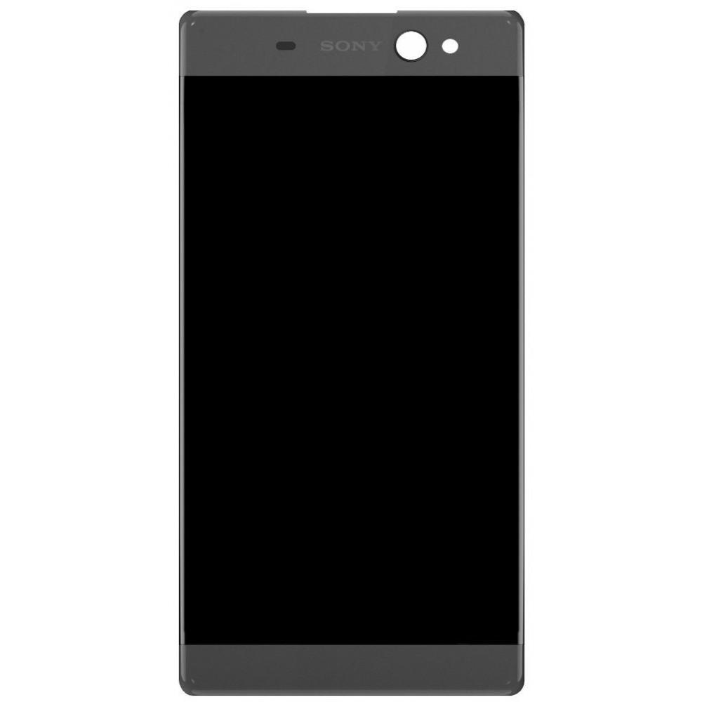 Дисплей для Sony Xperia XA Ultra в сборе с тачскрином, черный