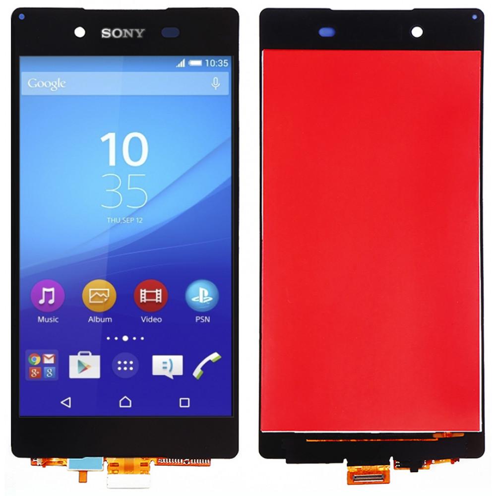 Дисплей для Sony Xperia Z3 Plus в сборе с тачскрином, черный
