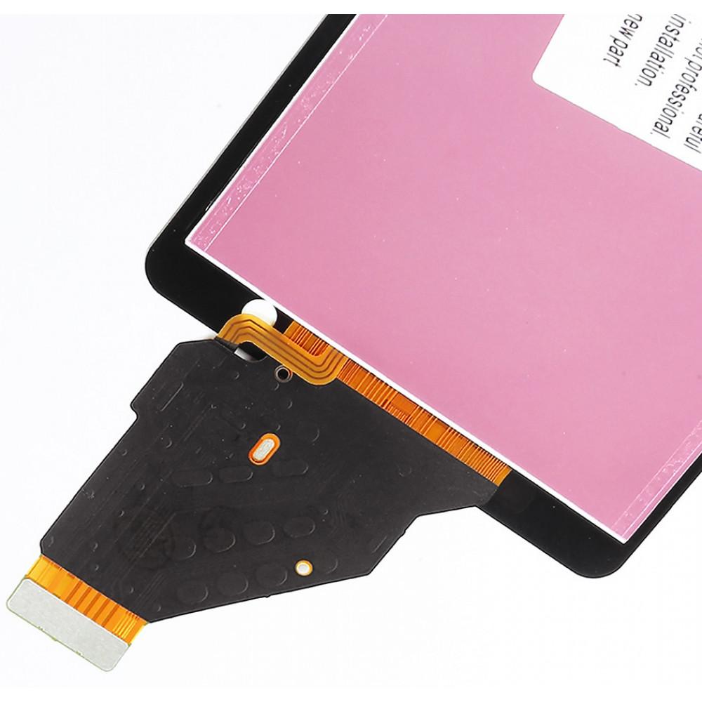 Дисплей для Sony Xperia ZR (C5502/ C5503) в сборе с тачскрином, черный