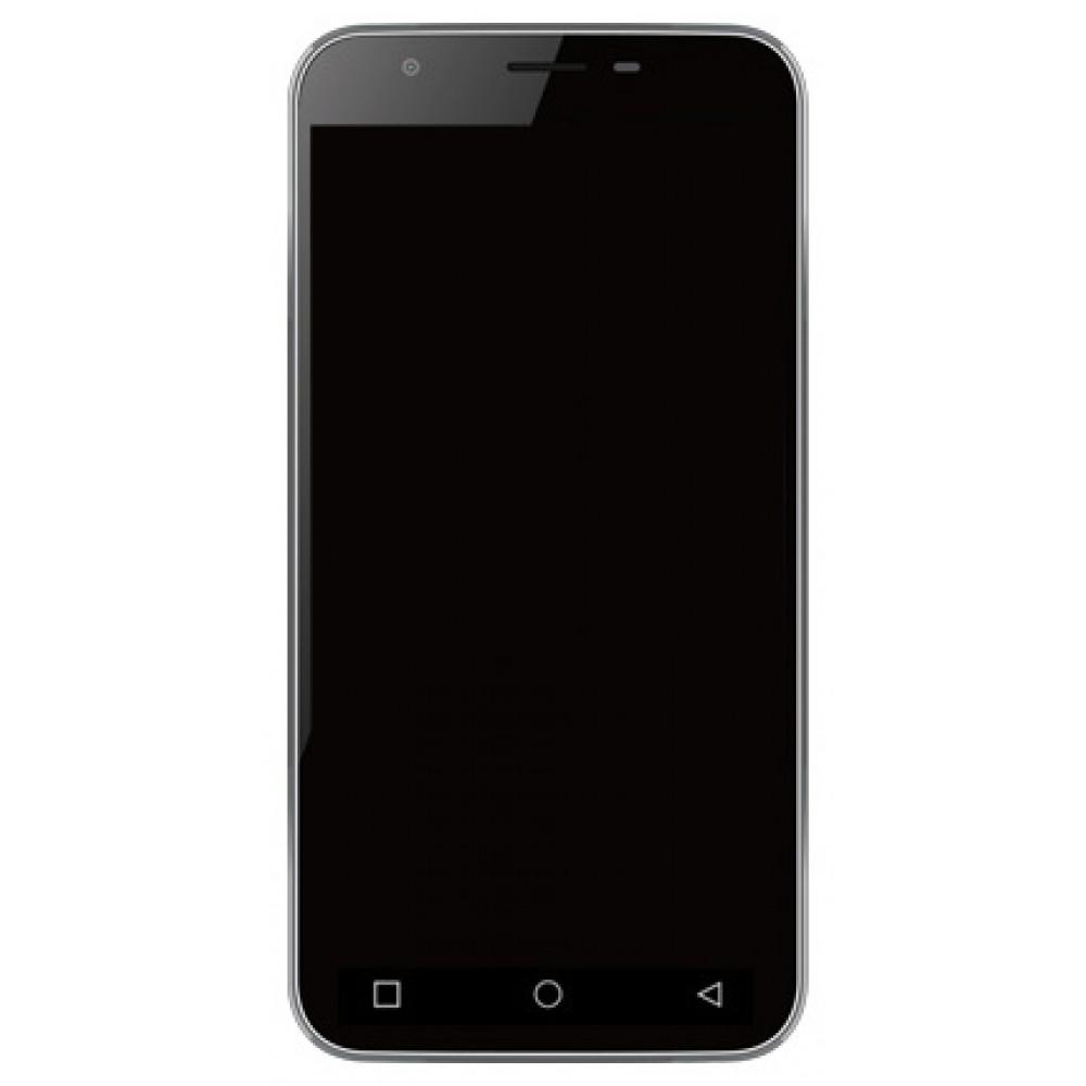 Дисплей для Vertex Impress Omega в сборе с тачскрином и рамкой, черный