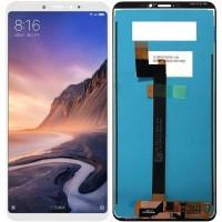 Дисплей для Xiaomi Mi Max 3 в сборе с тачскрином, белый