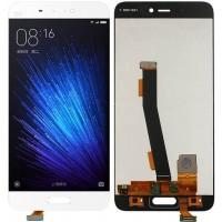 Дисплей для Xiaomi Mi5 в сборе с тачскрином, белый