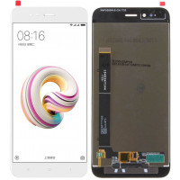 Дисплей для Xiaomi Mi5X (Mi A1) в сборе с тачскрином, белый