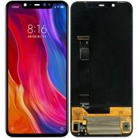 Дисплей для Xiaomi Mi8 в сборе с тачскрином, черный