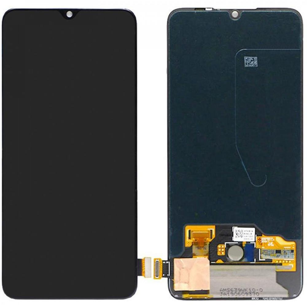 Дисплей для Xiaomi Mi9 Lite в сборе с тачскрином, черный