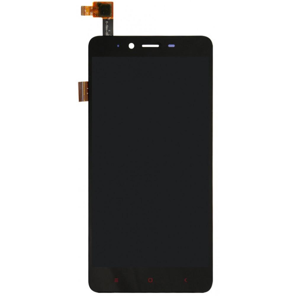 Дисплей для Xiaomi Redmi Note 2 в сборе с тачскрином, черный
