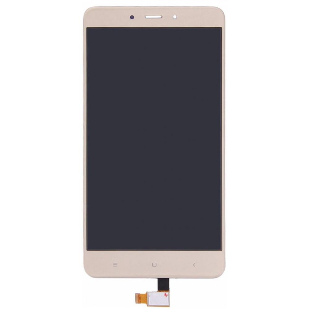 Дисплей для Xiaomi Redmi Note 4 в сборе с тачскрином, золотой