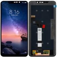 Дисплей для Xiaomi Redmi Note 6 Pro в сборе с тачскрином, черный