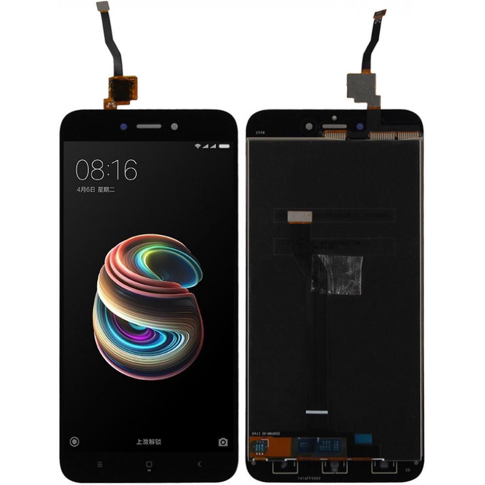 Дисплей для Xiaomi Redmi 5A с сборе с тачскрином, черный