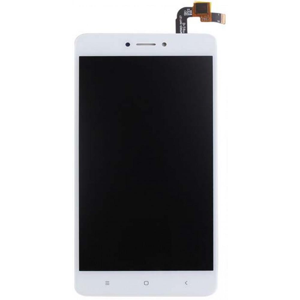 Дисплей для Xiaomi Redmi Note 4X в сборе с тачскрином, белый