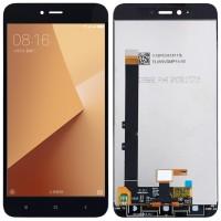 Дисплей для Xiaomi Redmi Note 5A в сборе с тачскрином, черный