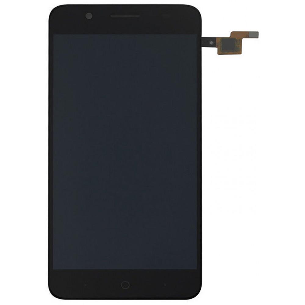 Дисплей для ZTE Blade A610 Plus/ A2 Plus в сборе с тачскрином, черный