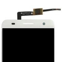 Дисплей для ZTE Blade V7 в сборе с тачскрином, белый