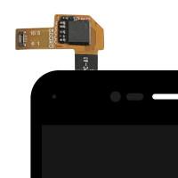 Дисплей для ZTE Blade V8 в сборе с тачскрином, черный