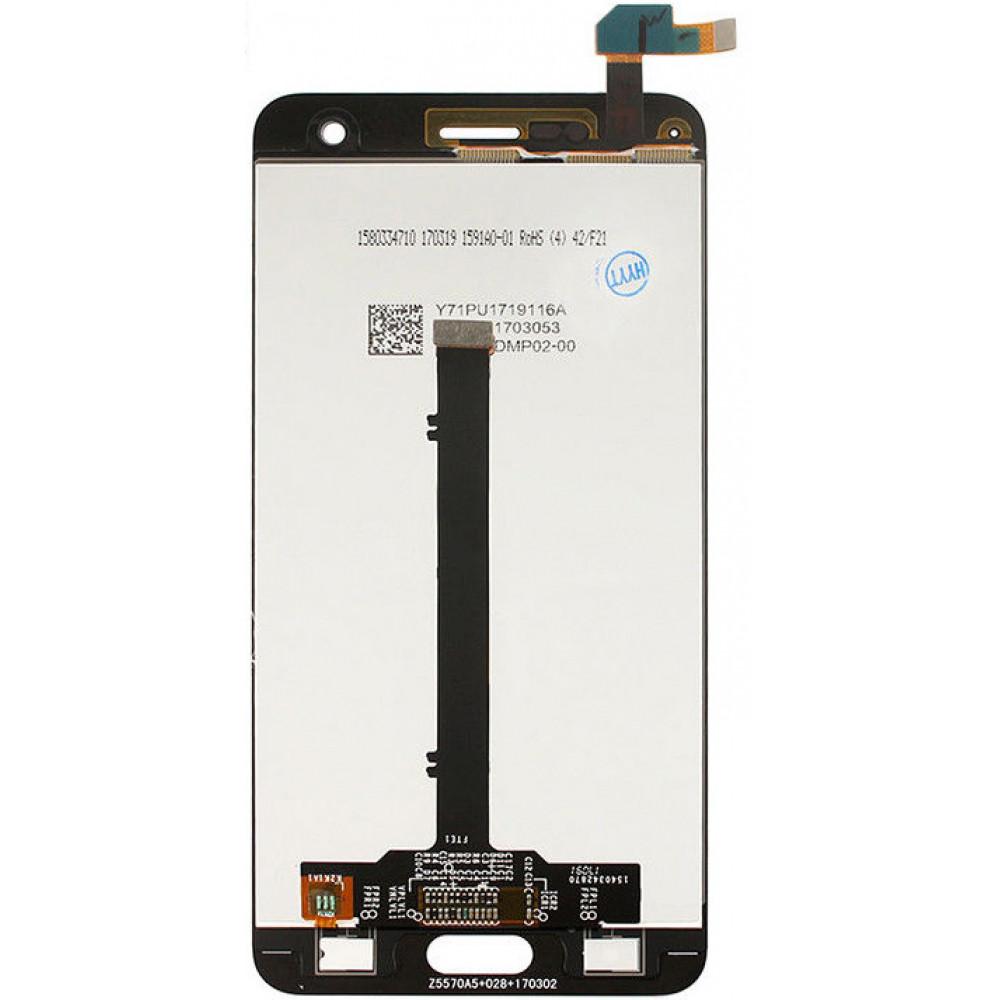 Дисплей для ZTE Blade V8 в сборе с тачскрином, белый