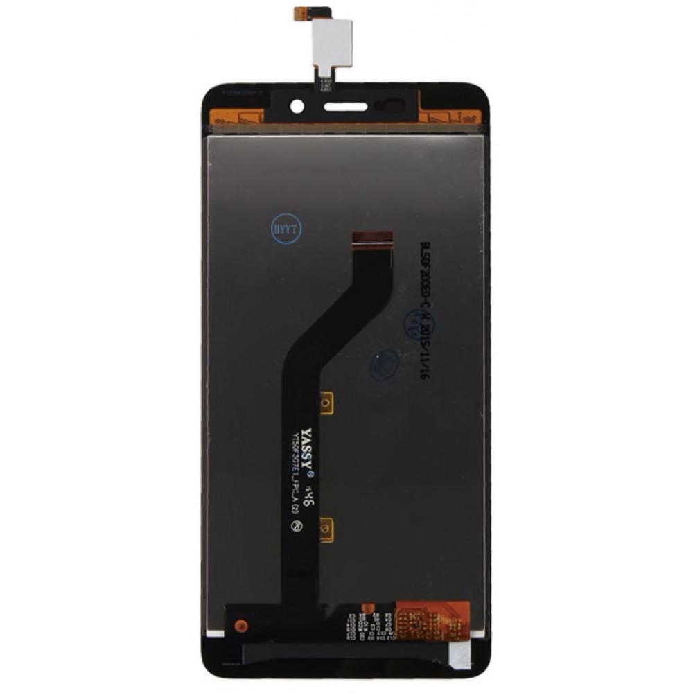 Дисплей для ZTE Blade X3 в сборе с тачскрином, черный