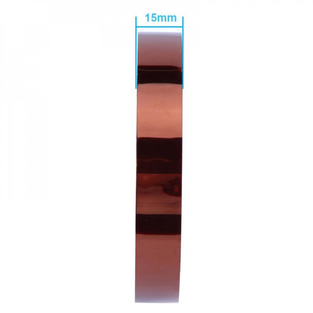 Термоскотч (каптоновая лента) 15мм